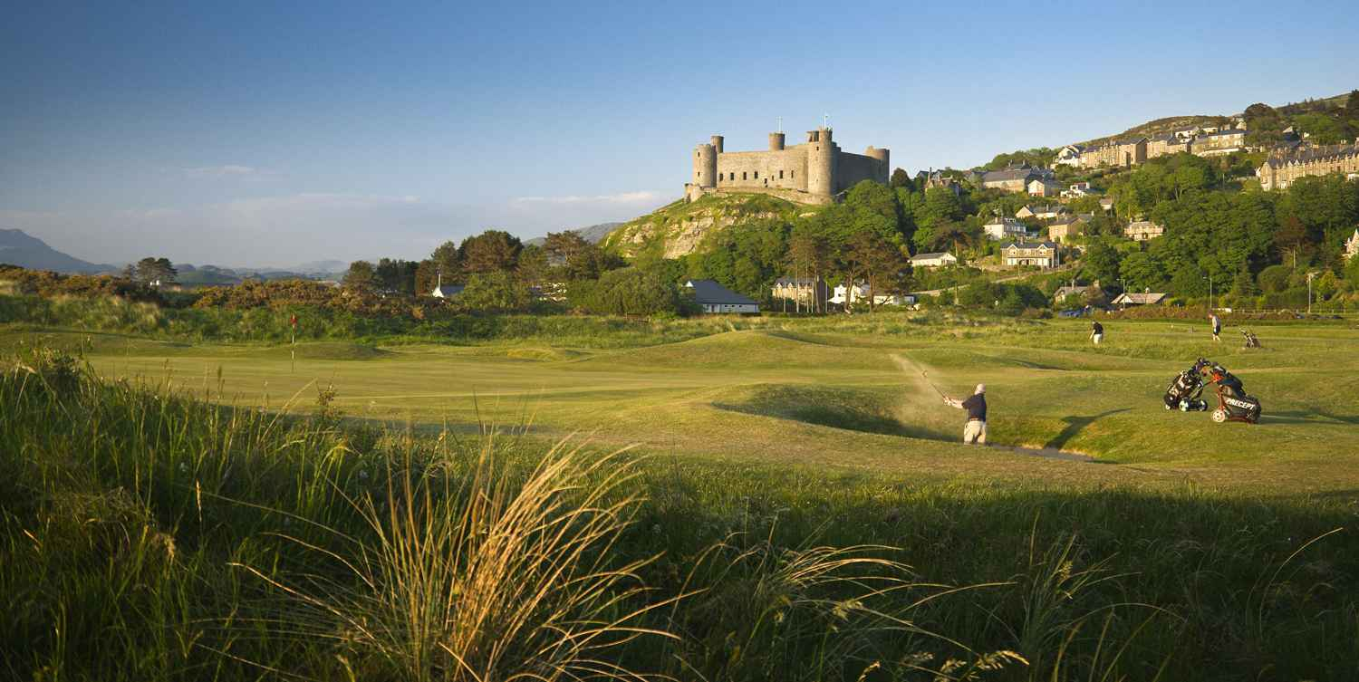 Royal St. Davids golf course, Harlech, North Wales