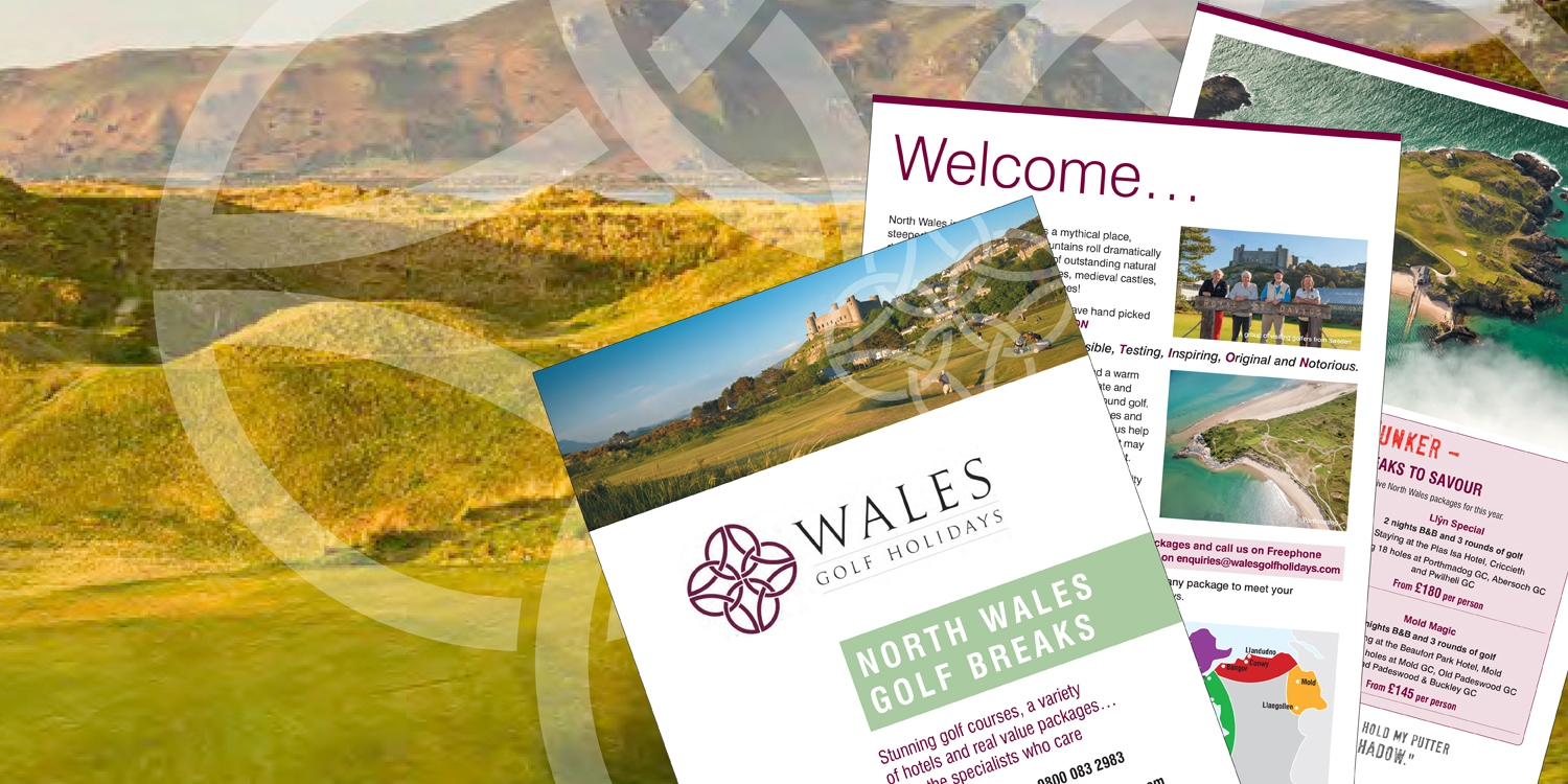 North Wales golf break brochures